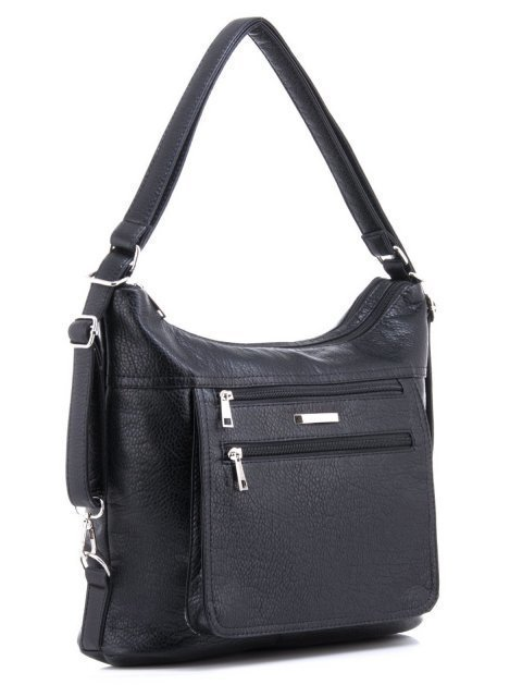 Чёрная сумка мешок S.Lavia (Славия) - артикул: 957 601 01 - ракурс 2