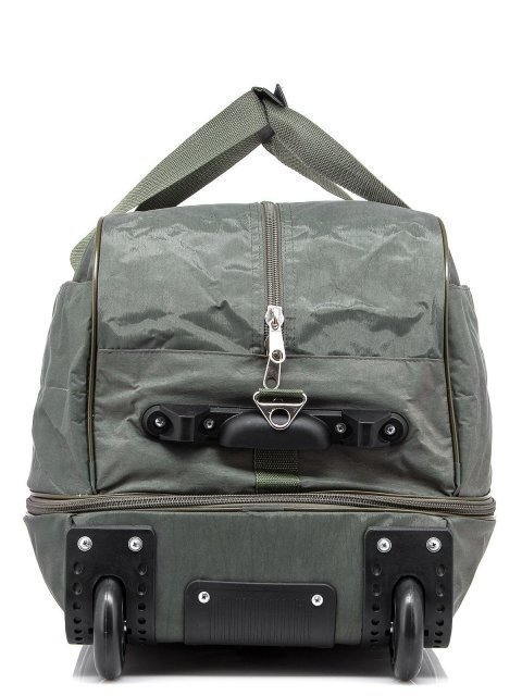 Зелёный чемодан Lbags (Эльбэгс) - артикул: К0000015895 - ракурс 2