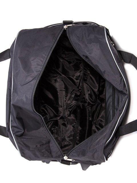 Чёрный чемодан Lbags (Эльбэгс) - артикул: К0000013257 - ракурс 5