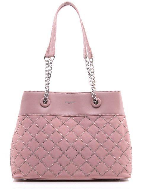 Розовая сумка классическая David Jones - 1200.00 руб