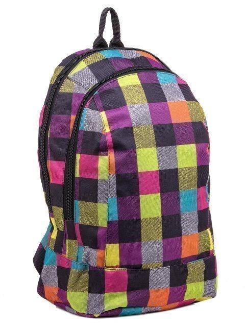 Фиолетовый рюкзак Lbags (Эльбэгс) - артикул: К0000030342 - ракурс 1
