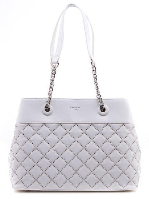 Белая сумка классическая David Jones - 1200.00 руб
