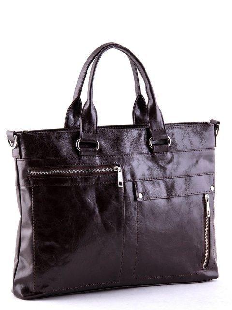 Коричневая сумка классическая S.Lavia (Славия) - артикул: 355 048 12 - ракурс 2