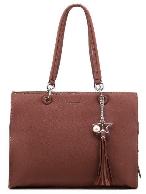 Рыжая сумка классическая David Jones - 1450.00 руб