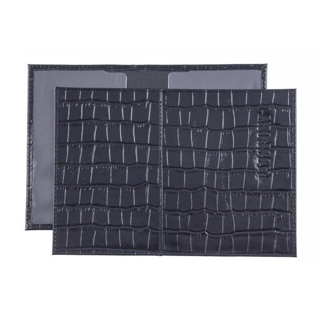 Чёрная обложка для документов S.Lavia - 299.00 руб