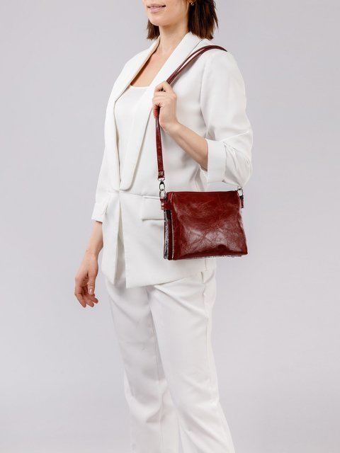 Красная сумка планшет S.Lavia (Славия) - артикул: 1049 048 79 - ракурс 1