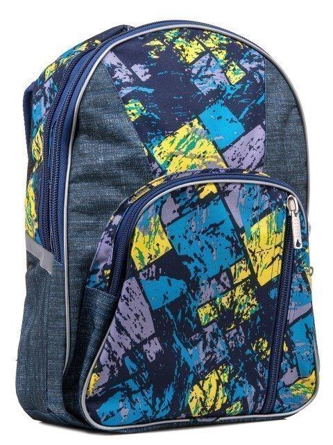 Синий рюкзак Lbags (Эльбэгс) - артикул: 0К-00004854 - ракурс 1