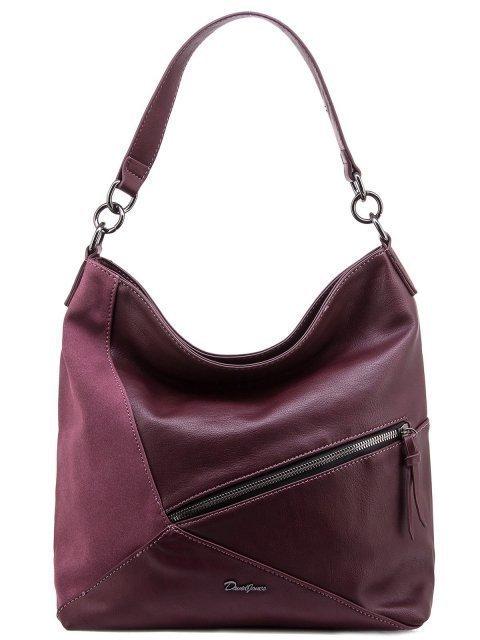 Бордовая сумка мешок David Jones - 1300.00 руб