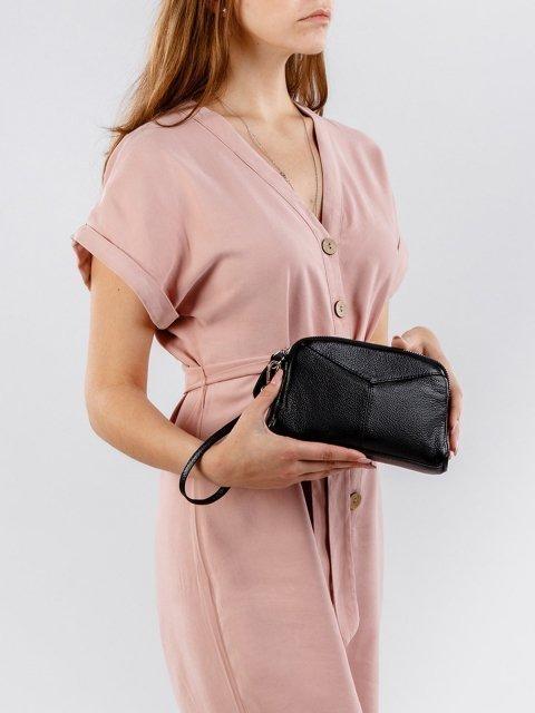 Чёрная сумка планшет S.Lavia (Славия) - артикул: 0018 13 01 - ракурс 5