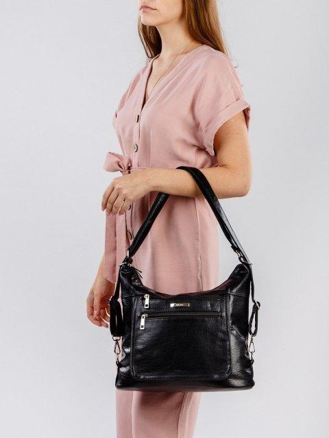 Чёрная сумка мешок S.Lavia (Славия) - артикул: 957 601 01 - ракурс 1