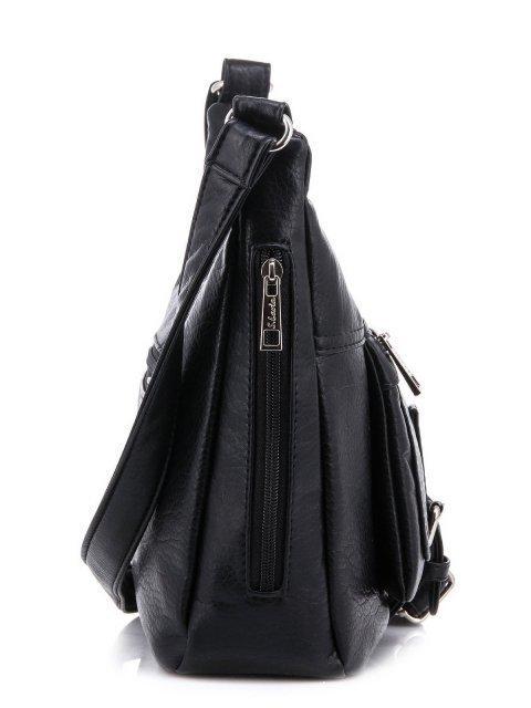 Чёрная сумка планшет S.Lavia (Славия) - артикул: 751 601 01 - ракурс 3