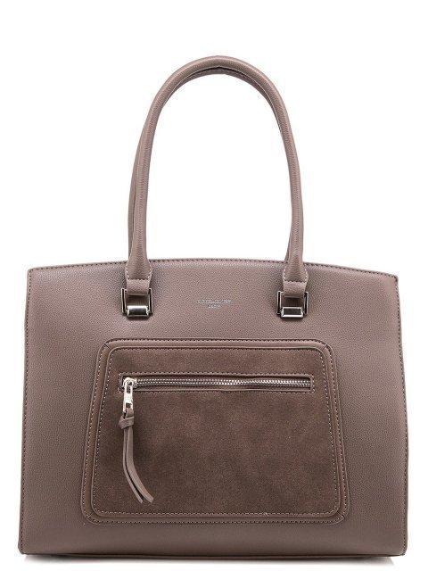 Коричневая сумка классическая David Jones - 1550.00 руб