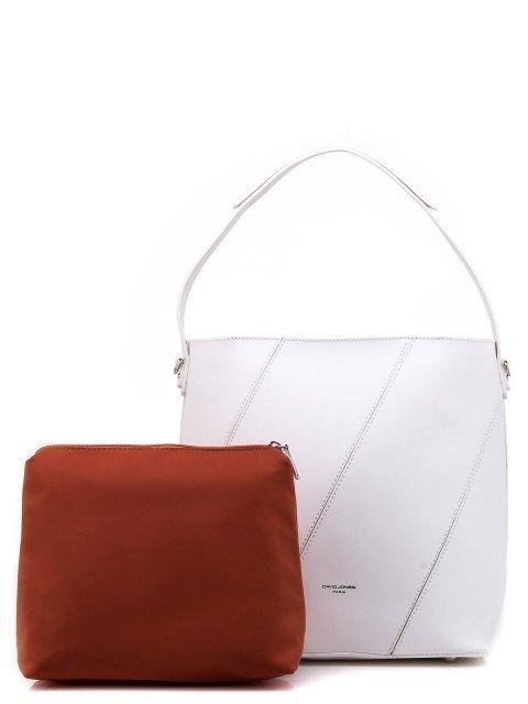 Белая сумка мешок David Jones - 1150.00 руб
