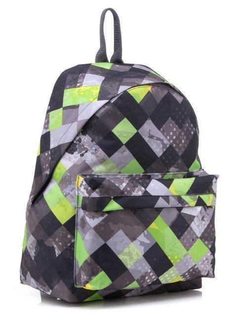 Серый рюкзак Lbags (Эльбэгс) - артикул: 0К-00001885 - ракурс 1