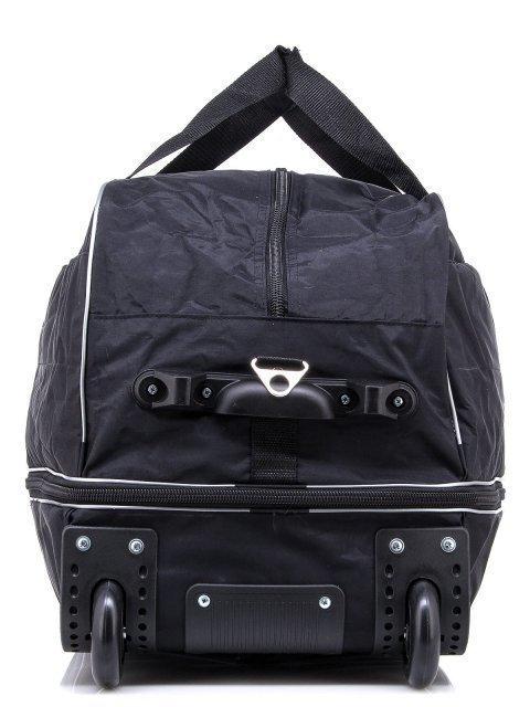 Чёрный чемодан Lbags (Эльбэгс) - артикул: К0000018584 - ракурс 2