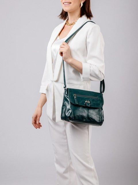 Зелёная сумка планшет S.Lavia (Славия) - артикул: 750 048 31 - ракурс 1