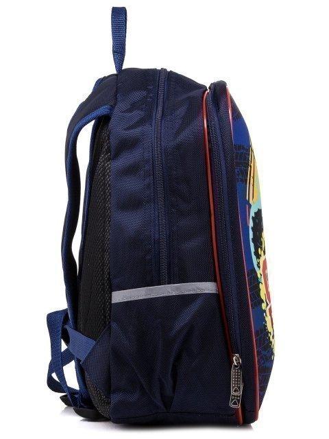 Синий рюкзак Lbags (Эльбэгс) - артикул: К0000031241 - ракурс 2