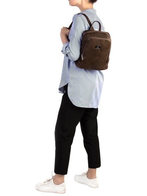 Коричневый рюкзак S.Lavia (Славия) - артикул: 677 512 02 - ракурс 1