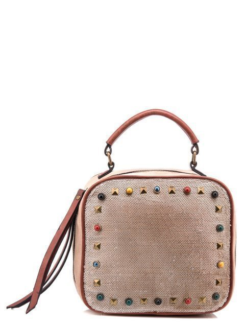 Бежевая сумка планшет Domenica - 1100.00 руб