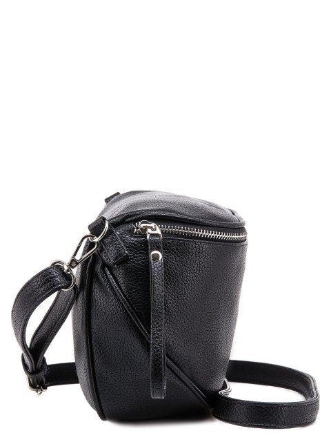 Чёрная сумка планшет S.Lavia (Славия) - артикул: 1011 902 01 - ракурс 3