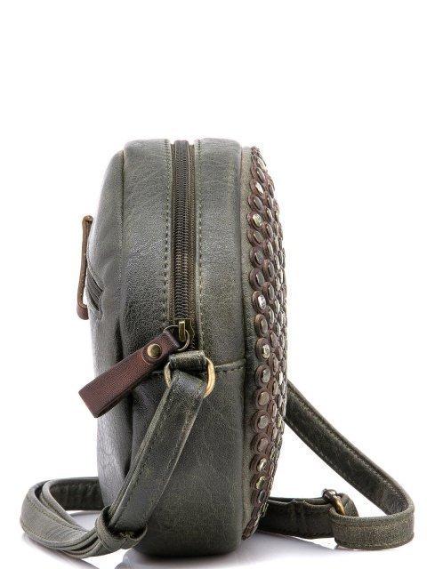 Темно-зеленый кросс-боди Domenica (Domenica) - артикул: 0К-00002067 - ракурс 2