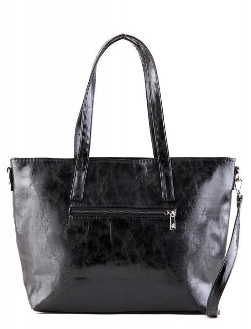 Чёрная сумка классическая S.Lavia (Славия) - артикул: 448 048 01 - ракурс 4