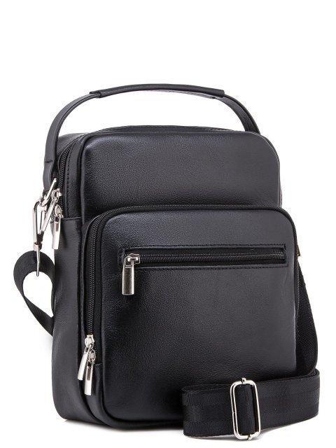 Чёрная сумка планшет S.Lavia (Славия) - артикул: 0052 10 01 - ракурс 1