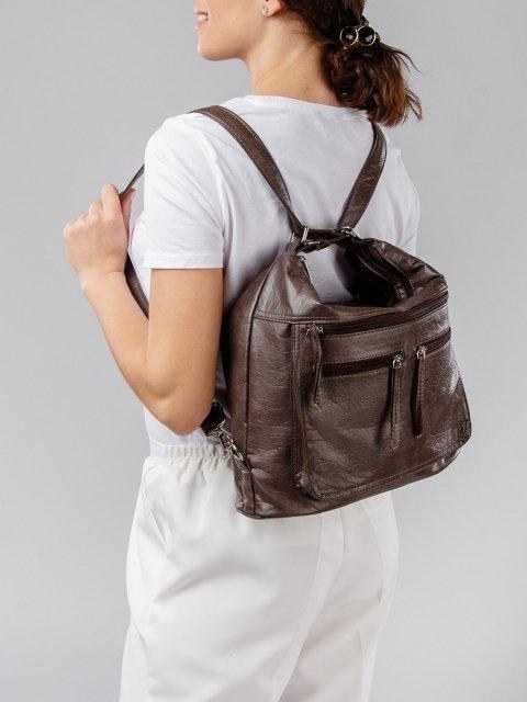 Коричневая сумка мешок S.Lavia (Славия) - артикул: 962 601 12 - ракурс 8