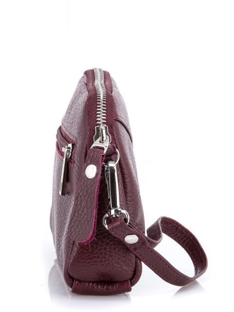 Бордовая сумка планшет S.Lavia (Славия) - артикул: 0018 12 03 - ракурс 2