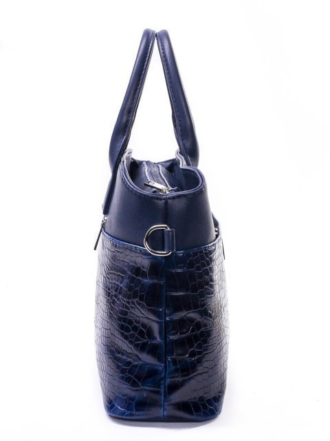Синяя сумка классическая S.Lavia (Славия) - артикул: 507 309 70 - ракурс 2