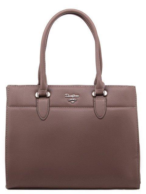 Коричневая сумка классическая David Jones - 1200.00 руб