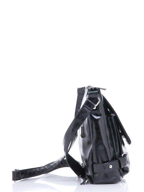 Чёрная сумка планшет S.Lavia (Славия) - артикул: 501 048 01 - ракурс 2