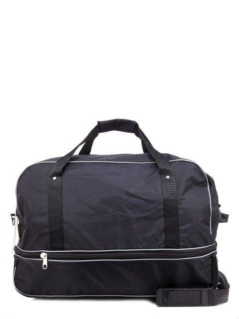 Чёрный чемодан Lbags (Эльбэгс) - артикул: К0000013257 - ракурс 3