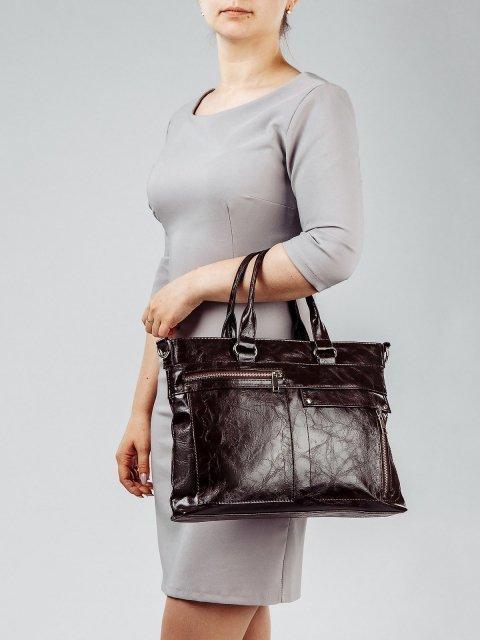 Коричневая сумка классическая S.Lavia (Славия) - артикул: 355 048 12 - ракурс 1