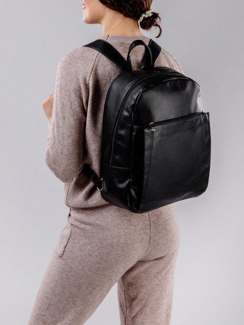 Чёрный рюкзак S.Lavia (Славия) - артикул: 939 910 01 - ракурс 1