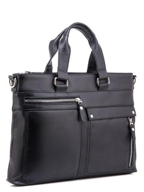 Чёрная сумка классическая S.Lavia (Славия) - артикул: 0047 10 01 - ракурс 1