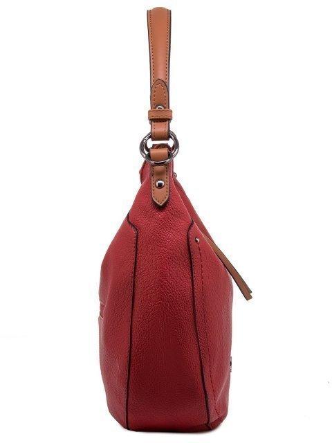Красная сумка мешок David Jones (Дэвид Джонс) - артикул: 0К-00011852 - ракурс 2