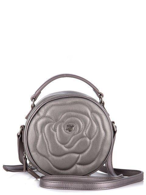 Серебряная сумка планшет David Jones - 916.00 руб