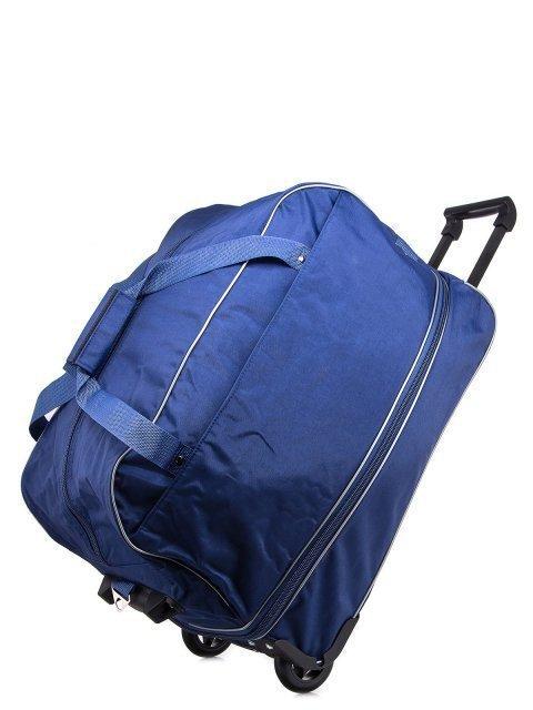 Синий чемодан Lbags (Эльбэгс) - артикул: К0000013256 - ракурс 4