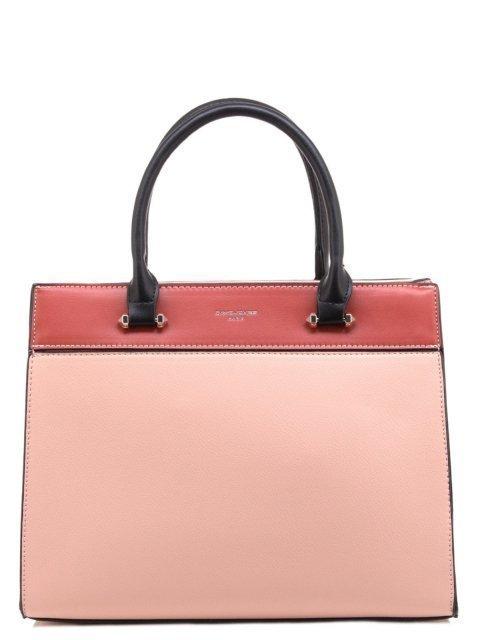 Розовая сумка классическая David Jones - 2015.00 руб