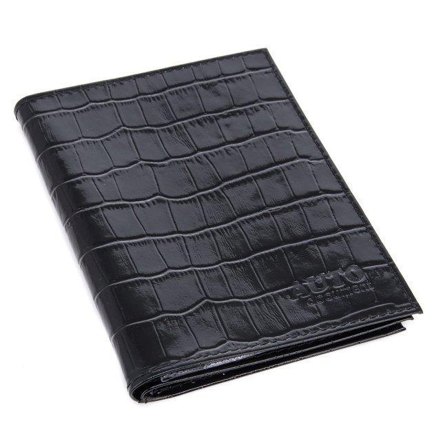 Чёрная обложка для документов S.Lavia - 799.00 руб