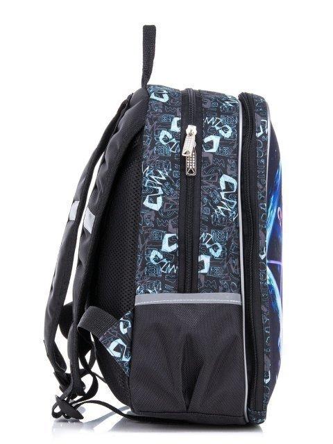 Серый рюкзак Lbags (Эльбэгс) - артикул: К0000031245 - ракурс 2