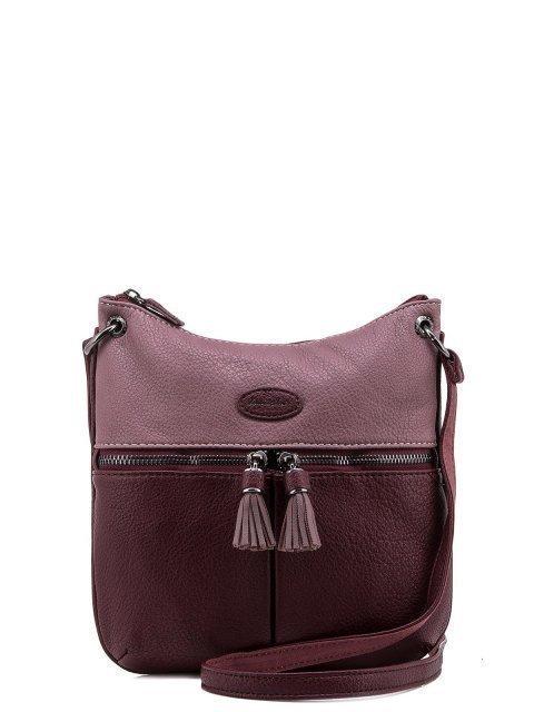 Бордовая сумка планшет David Jones - 1050.00 руб