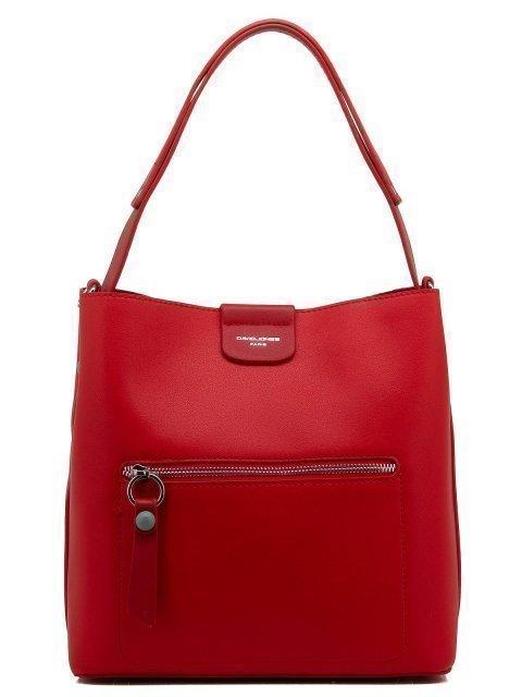 Красная сумка мешок David Jones - 1199.00 руб