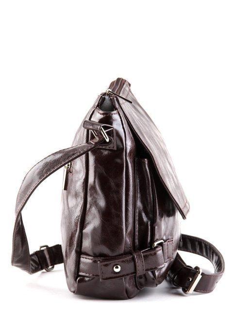 Коричневая сумка планшет S.Lavia (Славия) - артикул: 501 048 12 - ракурс 2