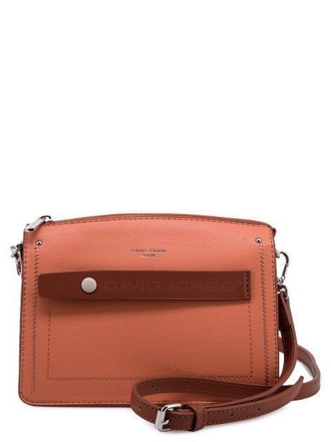 Оранжевая сумка планшет David Jones - 1889.00 руб