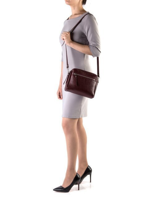 Бордовая сумка планшет S.Lavia (Славия) - артикул: 0030 12 03 - ракурс 1