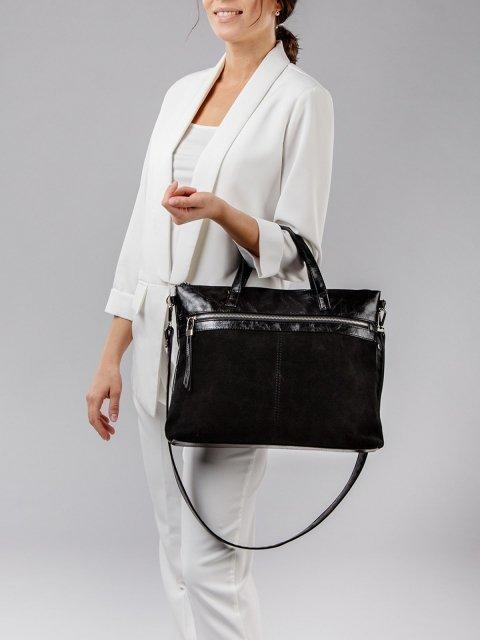 Чёрная сумка классическая S.Lavia (Славия) - артикул: 1035 99 01 - ракурс 1