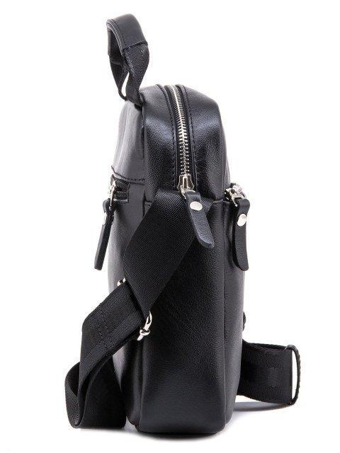 Чёрная сумка планшет S.Lavia (Славия) - артикул: 0038 10 01 - ракурс 3