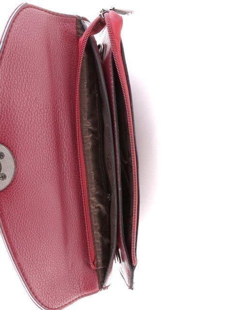 Бордовая сумка планшет Polina (Полина) - артикул: К0000021096 - ракурс 4